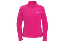 THE NORTH FACE Women&#039;s 100 Glacier 1/4 Zip fusion pink